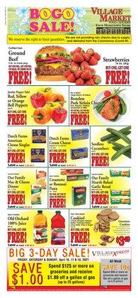 Village Market Food Centers catalogue ( 2 days left )