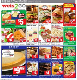 Cheese deals in the Weis Markets weekly ad in Lancaster PA