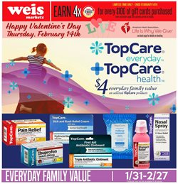 Tablet deals in the Weis Markets weekly ad in Lancaster PA