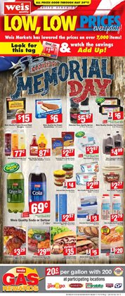 Weis Markets deals in the Doylestown PA weekly ad