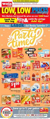 Weis Markets deals in the Hagerstown MD weekly ad