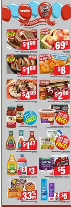 Weis Markets deals in the Stafford VA weekly ad