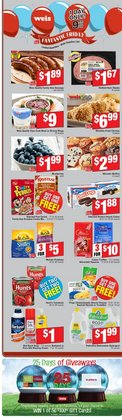 Grocery & Drug deals in the Weis Markets weekly ad in Sterling VA