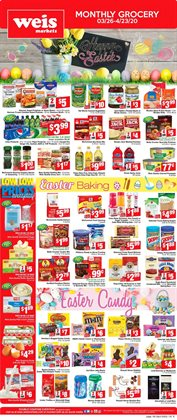 Weis Markets catalogue ( 2 days ago )