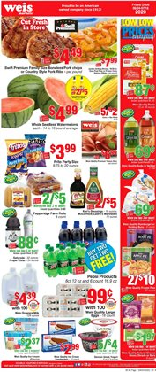 Grocery & Drug offers in the Weis Markets catalogue in Easton PA ( 12 days left )