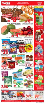 Weis Markets catalogue in Philadelphia PA ( Expires tomorrow )