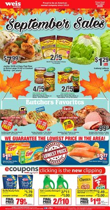 Weis Markets catalogue ( Expires today )