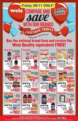 Weis Markets catalogue in Silver Spring MD ( 21 days left )