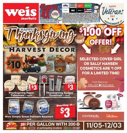 Weis Markets catalogue ( 2 days left )