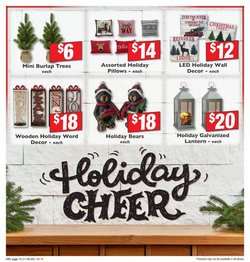 Christmas tree deals in Weis Markets