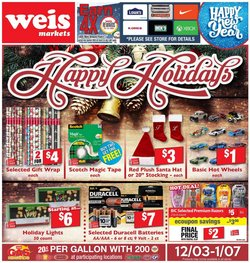 Weis Markets catalogue ( 1 day ago )