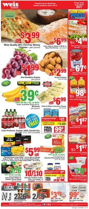 Weis Markets catalogue in Washington-DC ( 9 days left )