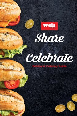 Grocery & Drug deals in the Weis Markets catalog ( 14 days left)