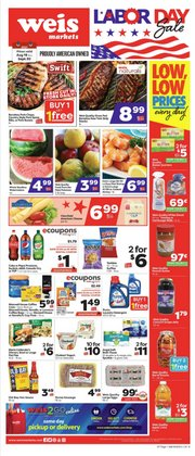 Grocery & Drug deals in the Weis Markets catalog ( 2 days left)