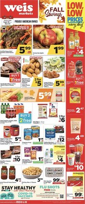 Grocery & Drug deals in the Weis Markets catalog ( 11 days left)