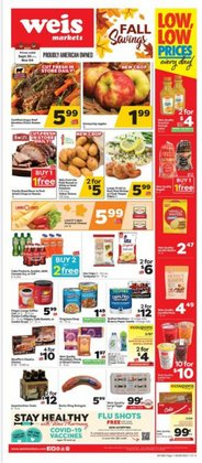 Grocery & Drug deals in the Weis Markets catalog ( 18 days left)