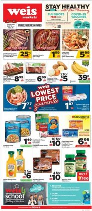 Grocery & Drug deals in the Weis Markets catalog ( Expires today)