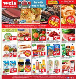 Pizza deals in the Weis Markets weekly ad in Gaithersburg MD
