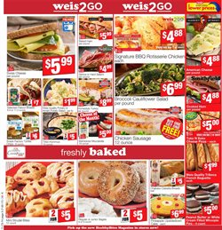 Orange juice deals in the Weis Markets weekly ad in Sterling VA