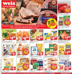 Weis Markets deals in the Fredericksburg VA weekly ad