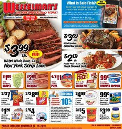 Wesselman's deals in the Evansville IN weekly ad