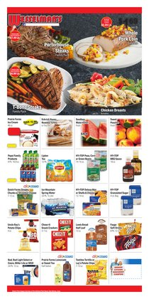 Grocery & Drug deals in the Wesselman's catalog ( 3 days left)