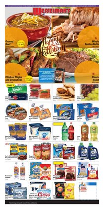 Wesselman's deals in the Wesselman's catalog ( Published today)
