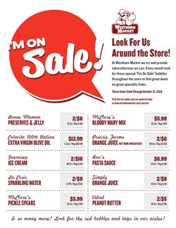 Pasta deals in the Westborn Market weekly ad in Livonia MI