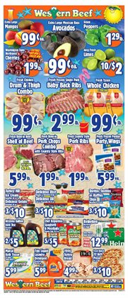 Chicken deals in the Western Beef weekly ad in New York