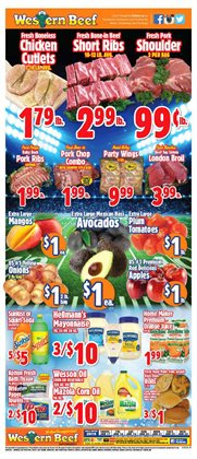 Grocery & Drug deals in the Western Beef weekly ad in Flushing NY