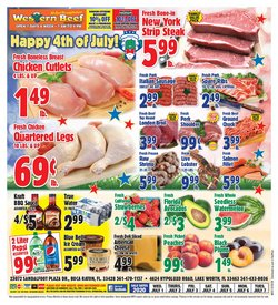 Grocery & Drug offers in the Western Beef catalogue in Delray Beach FL ( 2 days ago )