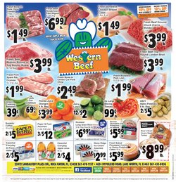 Grocery & Drug offers in the Western Beef catalogue in Fort Lauderdale FL ( 2 days left )