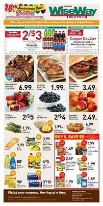 WiseWay deals in the Crown Point IN weekly ad