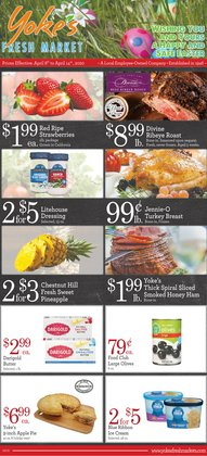 Yoke's Fresh Market catalogue ( 2 days ago )