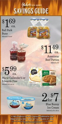 Grocery & Drug deals in the Yoke's Fresh Market catalog ( 5 days left)
