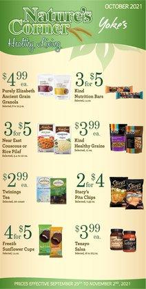 Yoke's Fresh Market deals in the Yoke's Fresh Market catalog ( 8 days left)