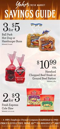 Yoke's Fresh Market deals in the Spokane WA weekly ad