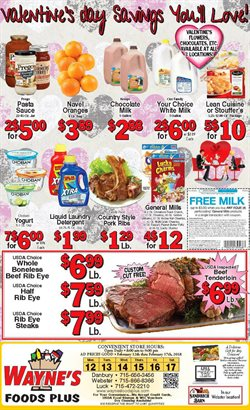 Wayne's Food Plus deals in the Luck WI weekly ad