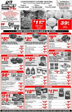 Wayne's Food Plus deals in the Wayne's Food Plus catalog ( Expires tomorrow)
