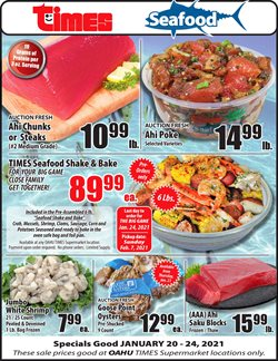 Grocery & Drug offers in the Times Supermarkets catalogue in Waipahu HI ( Expires today )