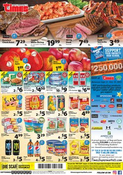 Times Supermarkets deals in the Times Supermarkets catalog ( Expires today)