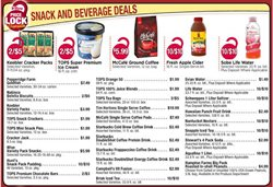 Coffee deals in the Tops weekly ad in Poughkeepsie NY