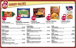 Potatoes deals in the Tops weekly ad in Poughkeepsie NY