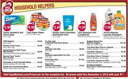 Shampoo deals in the Tops weekly ad in Troy NY