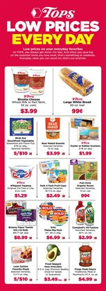 Milk deals in the Tops weekly ad in Poughkeepsie NY