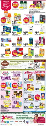 Wipers deals in the Tops weekly ad in Poughkeepsie NY