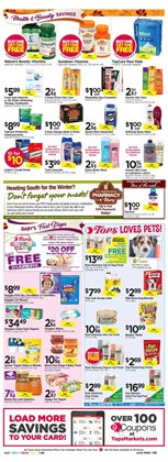 Pharmaceutical products deals in the Tops weekly ad in Poughkeepsie NY