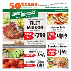 Stew Leonard's deals in the Norwalk CT weekly ad