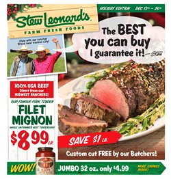Stew Leonard's deals in the Flushing NY weekly ad