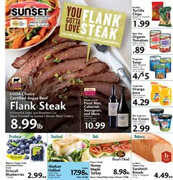 Sunset Foods deals in the Santa Ana CA weekly ad